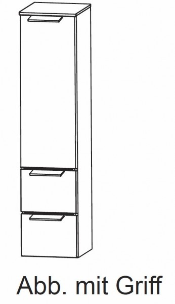 Puris Slim Line Mittelschrank 30 cm HNA873A29