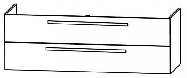 Puris Star Line Bad-Konfigurator 140 cm - Glaswaschtisch