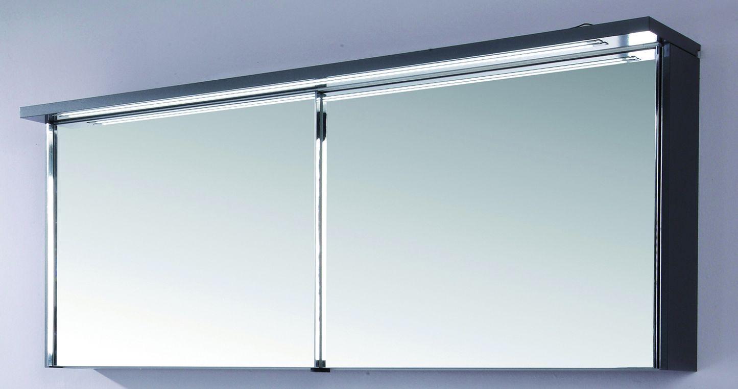 puris star line 2d spiegelschrank 160 cm s2a491611 g nstig. Black Bedroom Furniture Sets. Home Design Ideas