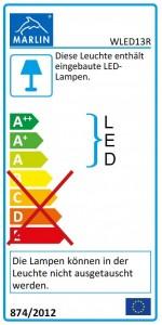 mit LED-Band WLED13R
