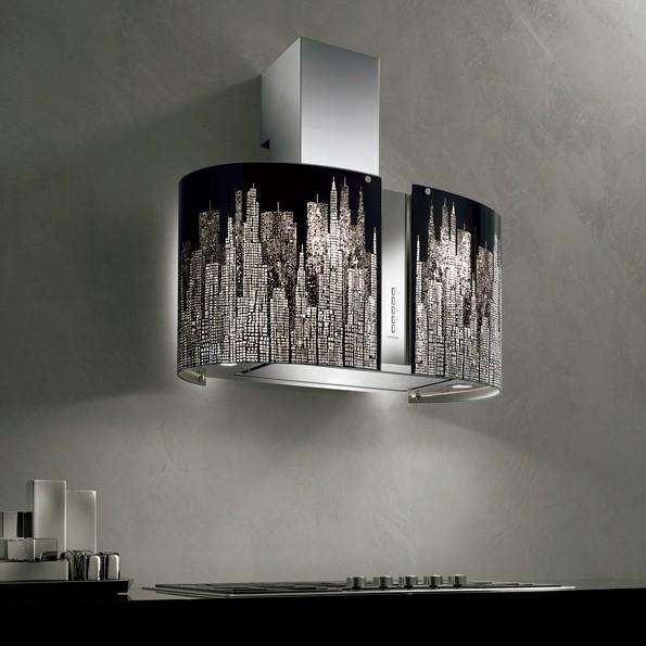 Falmec Manhattan, Mirabilia, LED, Wandhaube, 67 cm