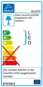 mit LED-Band WLED7R