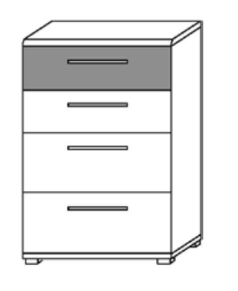Loddenkemper Luna Kommode 4166/4167/4251 günstig kaufen | Möbel ...