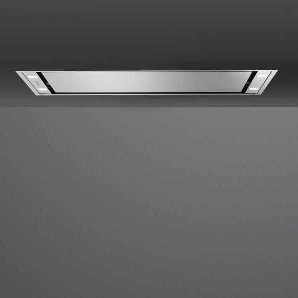 Falmec Stella 90, Design+, Deckenhaube, 90 cm breit, Edelstahl
