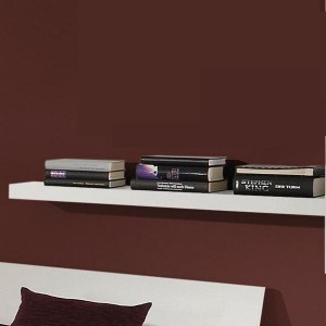 0415 Ablageboard breit / Farbe weiß matt