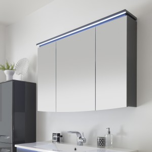 9020-SPS 05 Spiegelschrank mit LED-Kranzbeleuchtung