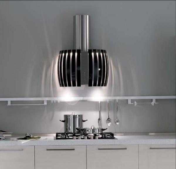 Falmec Prestige 65M, Design+, Wandhaube, 65 cm, Edelstahl / Schwarz