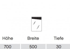 FEEN00350R  - Funktionsspiegel rechts