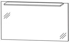 Flächenspiegel 120 cm FSA412B30 - Serie A