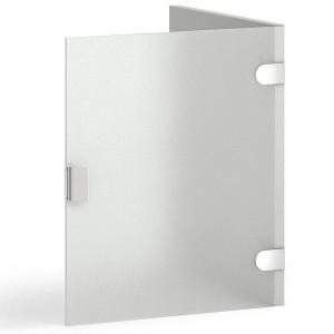 1x 7204 Milchglastür (mit Seite)