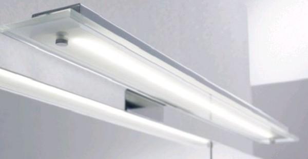 Pelipal Aufsatzleuchte für Flächenspiegel/Spiegelschrank - LS-K