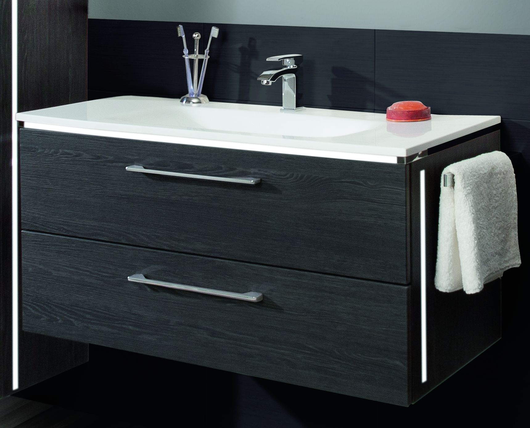 marlin mybad waschplatz loft 100 cm g nstig kaufen m bel universum. Black Bedroom Furniture Sets. Home Design Ideas