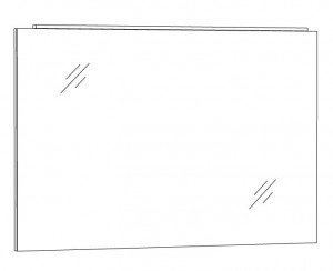 Spiegelpaneel 100 cm SPFLA10