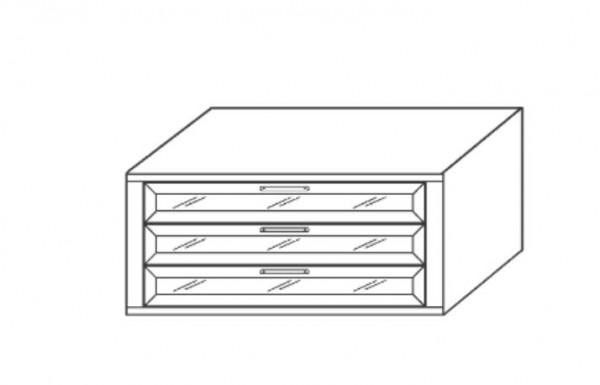 Loddenkemper Schubkasteneinsatz (Nachbildung) 0553/0554