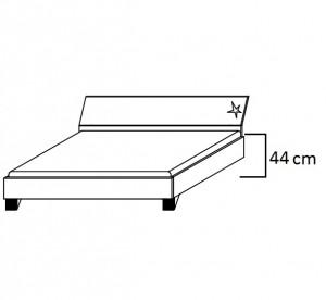 Bettseitenhöhe Komfort 44 cm