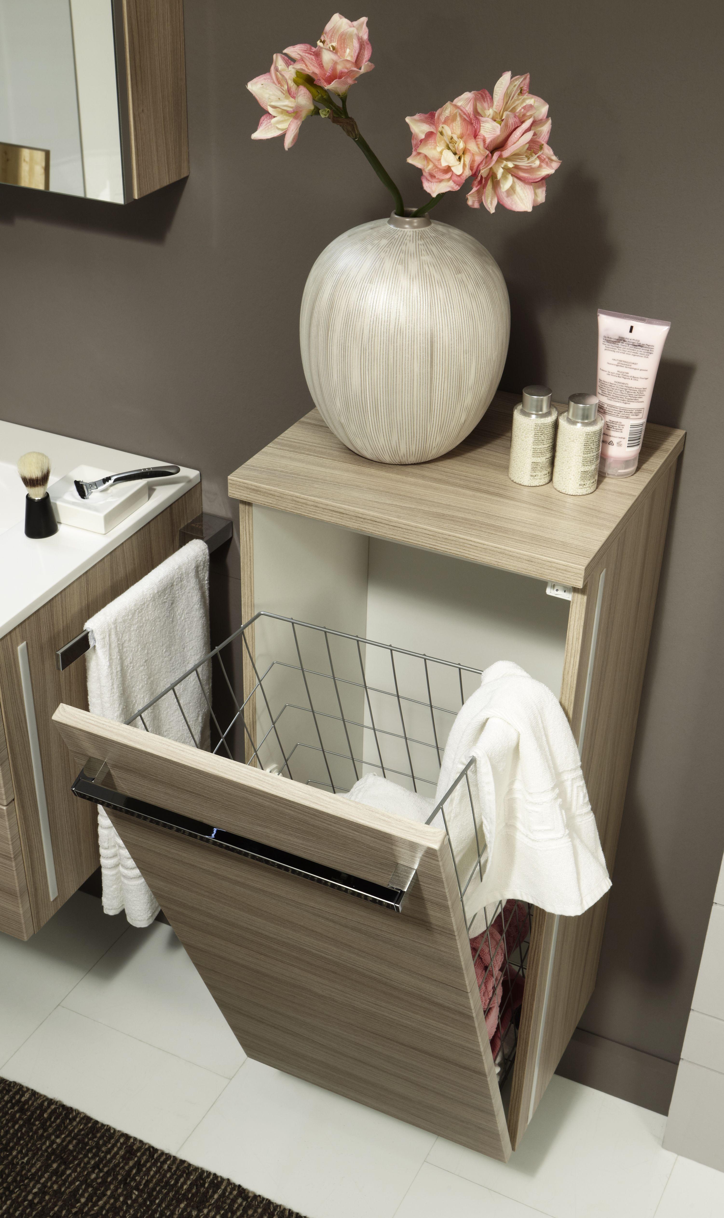 marlin mybad highboard mit w schekippe 40 cm mhbw40ld. Black Bedroom Furniture Sets. Home Design Ideas