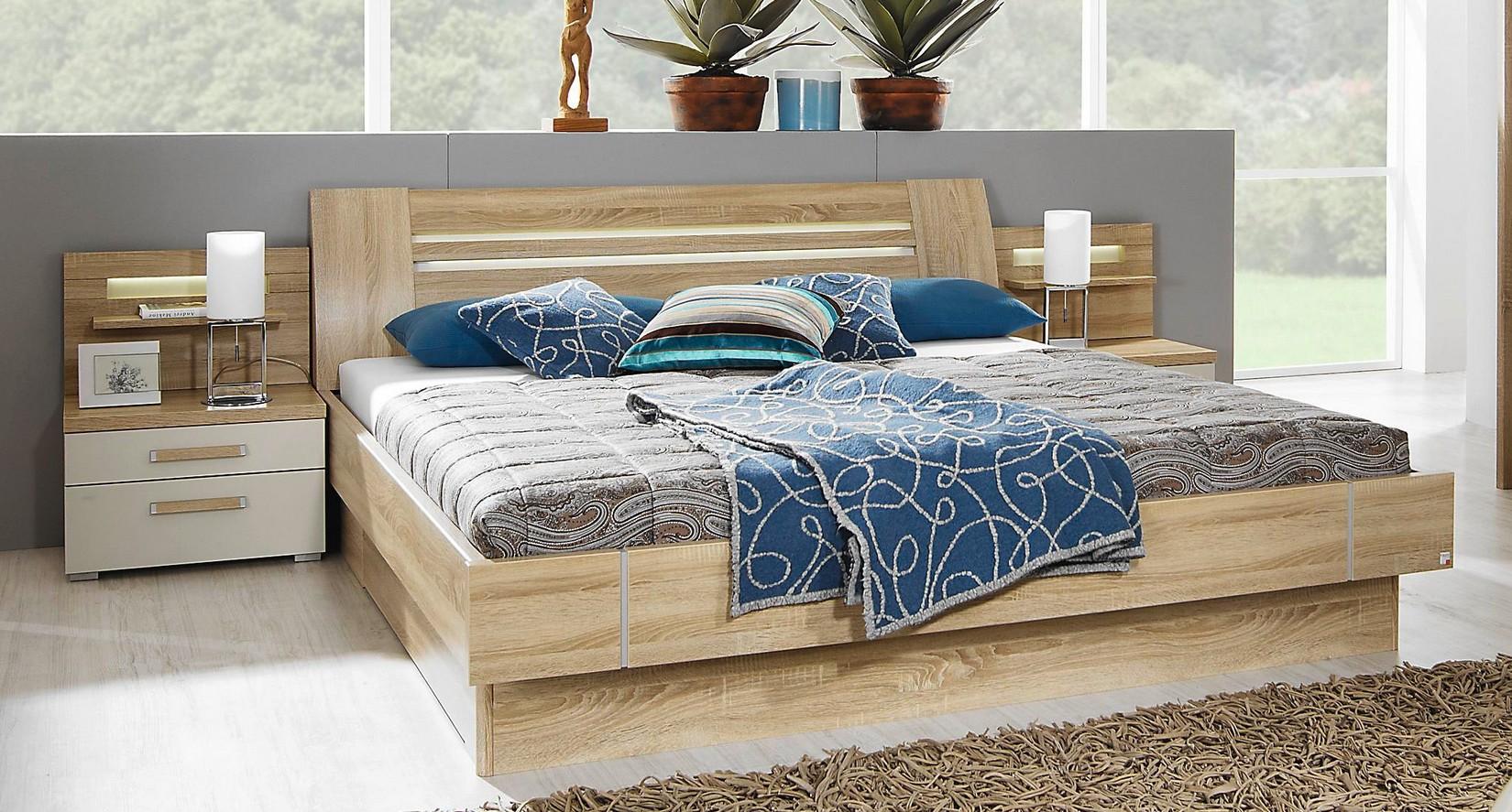 rauch dialog julietta bett ohne oder mit beleuchtung. Black Bedroom Furniture Sets. Home Design Ideas