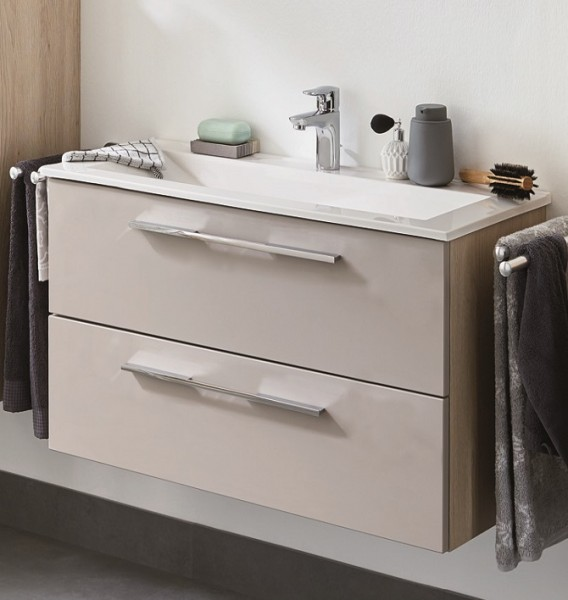 puris fine line waschplatz 65 cm mit keramik oder mineralgussbecken g nstig kaufen m bel. Black Bedroom Furniture Sets. Home Design Ideas