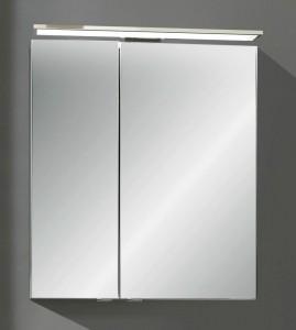 Spiegelschrank 60 cm SSFGS24 (Lichtfarbe ca. 6000 Kelvin)
