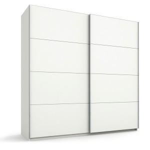 45S1 Schwebetürenschrank Dekor-/Hochglanzfront - Breite 226 cm