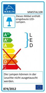 mit LED-Beleuchtung (100R)
