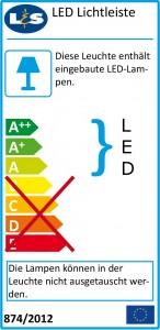 Nr. 1 Mineralguss Waschtisch mit LED-Beleuchtung