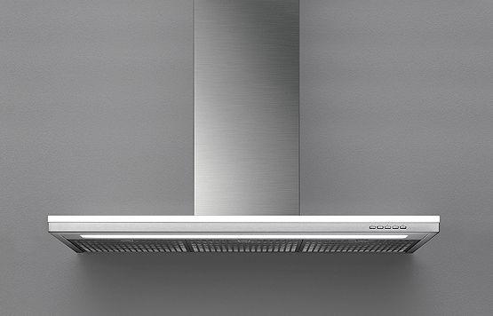 Falmec Lumen I 120, Design, Inselhaube, 120 cm, Edelstahl