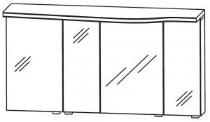 Spiegelschrank 120 cm SET40123L