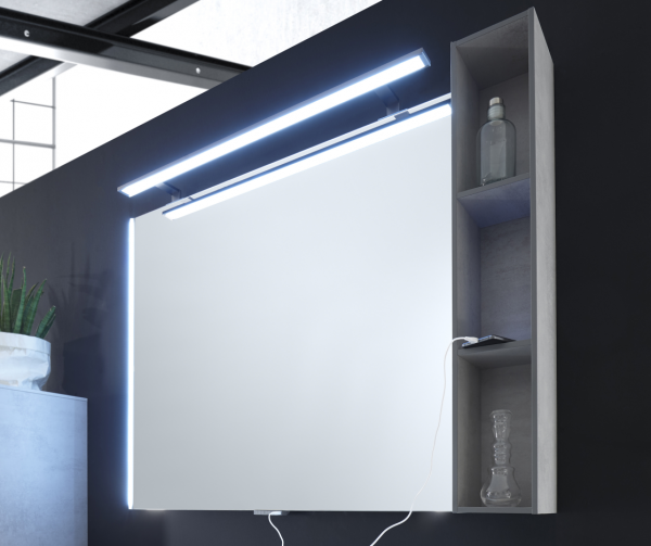 Pelipal Solitaire 9025 Flächenspiegel 118 cm mit LED-Beleuchtung / 9025-SP 03
