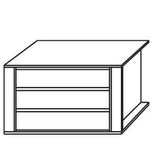 98AD - Schubkasteneinsatz / 3 Schubkästen / Holzfront