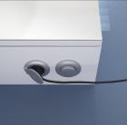 Schalter-Steckdosen-Modul - unten am Korpus bei Spiegelschrank