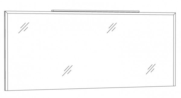 Marlin Loop Spiegelpaneel 160 cm SPWIA16