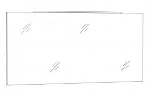 Spiegelpaneel 140 cm SPFLA14