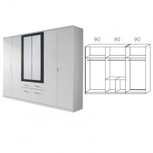 rauch packs burano schlafzimmer 4 teilig g nstig kaufen m bel universum. Black Bedroom Furniture Sets. Home Design Ideas