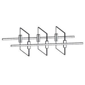 ET2-65 - 1 x Einteilung für hohe UT-Schubkästen