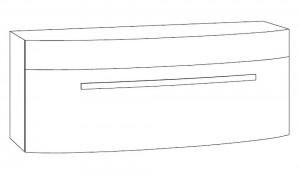 Waschtischunterschrank 120 cm SCWU121