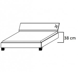 Bettseitenhöhe Standard 38 Cm