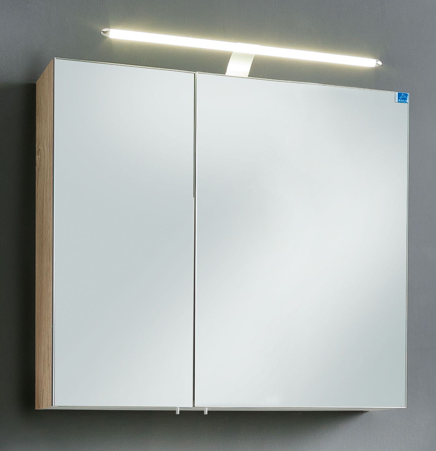 marlin bad 3030 christall spiegelschrank 80 cm stoa8s g nstig kaufen m bel universum. Black Bedroom Furniture Sets. Home Design Ideas