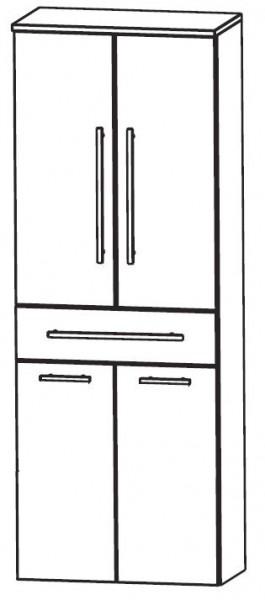 Puris WoW Hochschrank mit Wäschekippe 60 cm HNA056AW