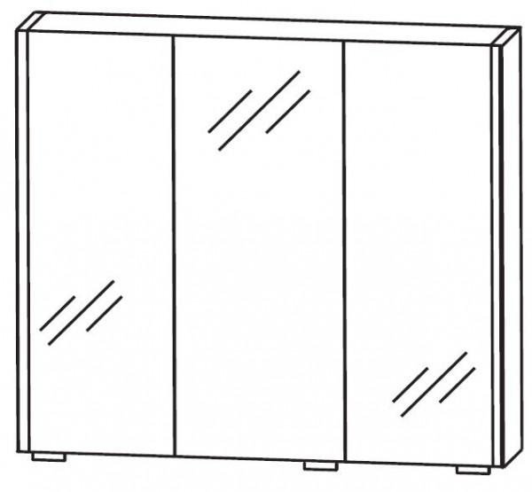 Puris Linea Spiegelschrank 70 cm S2A437079
