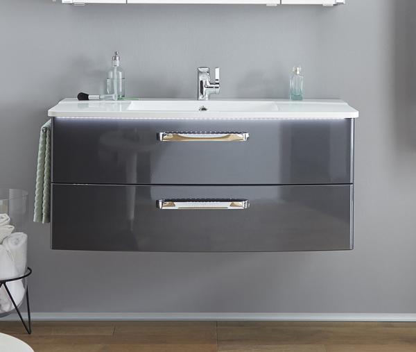 Pelipal Solitaire 9020 Waschtisch-Set 112 cm breit