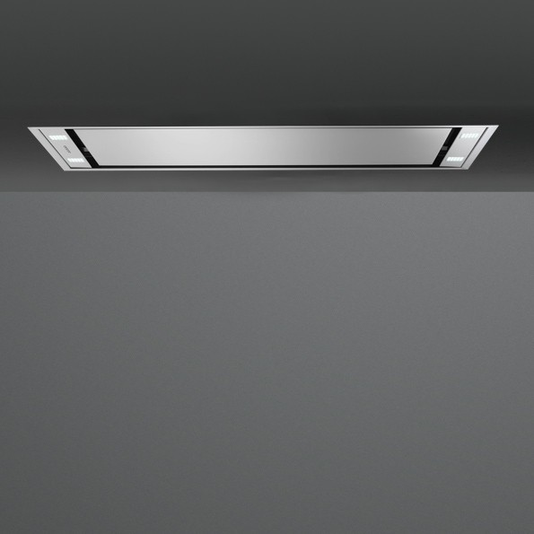 Falmec Stella 120, Design+, Deckenhaube, 120 cm, Edelstahl