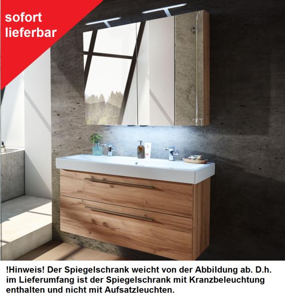 Schröder Kitzalm Alpenflair Badmöbel Kombination 120 cm breit - sofort lieferbar!