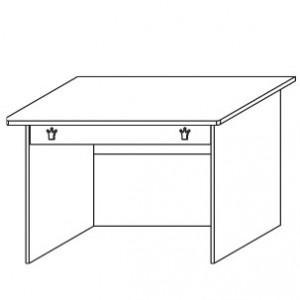 9515 Schreibtisch mit Schubkasten