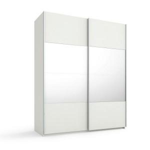 55S0 Schwebetürenschrank - 4 mittlere Türfelder in Spiegel - Breite 181 cm