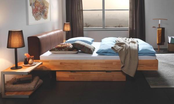 Hasena Wood-Line Bett Premium Ceneri Vilo