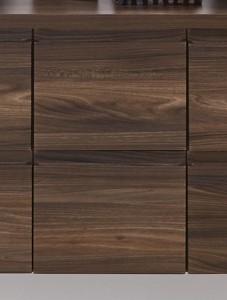 Plattenunterschrank mit zwei Metallschubkästen - 30 cm