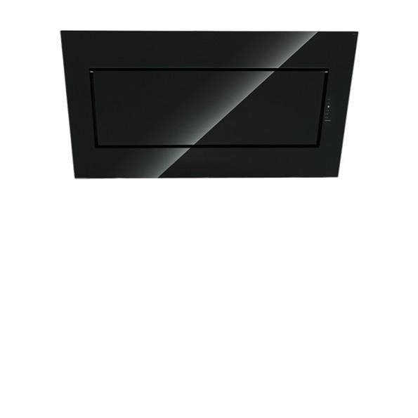 Falmec Quasar 90, Design, Kopffreihaube, 90 cm, Edelstahl / Schwarz