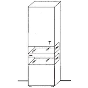 UVR11-402 - Anschlag und Seitenverglasung rechts