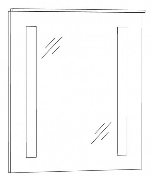 Marlin Azure Spiegelpaneel 60 cm SPFLS6